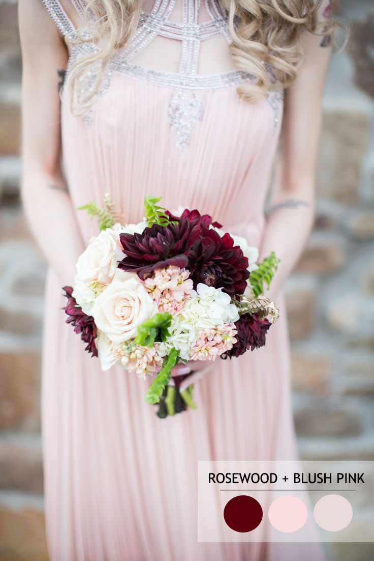 Pastel wedding color | 18 Fall Wedding Color Palettes | fabmood.com
