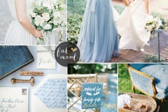 Serenity Wedding Theme { Pantone Spring 2016 } : http://www.fabmood.com/serenity-blue-wedding-theme #bluewedding