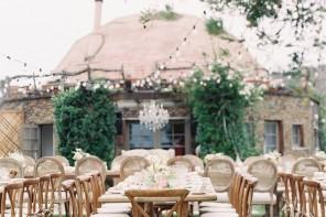 A Vineyard Wedding With Mountain Views Of Malibu | Photography : carolinetran.net | fabmood.com #wedding #weddingreception