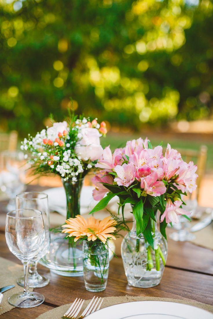 Autumn peach wedding