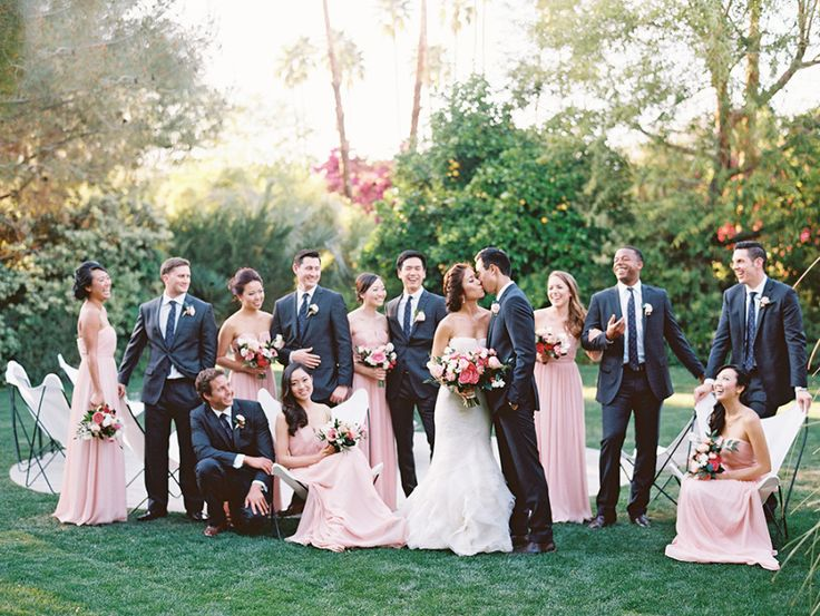 Pink Elegant Palm Spring Affair Wedding | Photography: Lane Dittoe lanedittoe.com View more: https://www.fabmood.com/pink-elegant-palm-spring-affair-wedding: