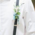 Bountonniere Woodland wedding - Beautiful Bohemian Elopement Inspiration