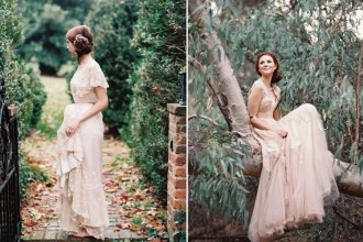 25 Gorgeous Etheral Colored Wedding Dresses