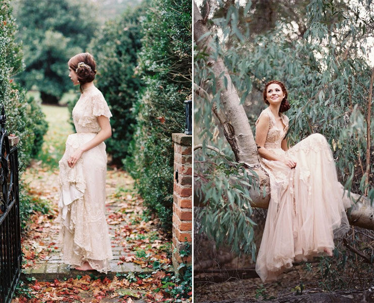25 Gorgeous Ethereal Colored Wedding Dresses : https://www.fabmood.com/gorgeous-colored-wedding-dresses