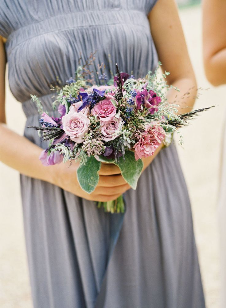 Photography : stevesteinhardt.com/ | Gorgeous plum hues bouqet - Fall Wedding Bouquet { Roses Wedding Bouquets } fabmood.com #fallbouquet