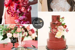 Fiesta blush and black Wedding Theme { Pantone Spring 2016 }