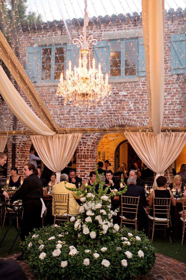 wedding reception - Peach and Teal Autumn secret garden wedding theme ideas | https://www.fabmood.com/peach-teal-secret-garden-wedding-theme-ideas