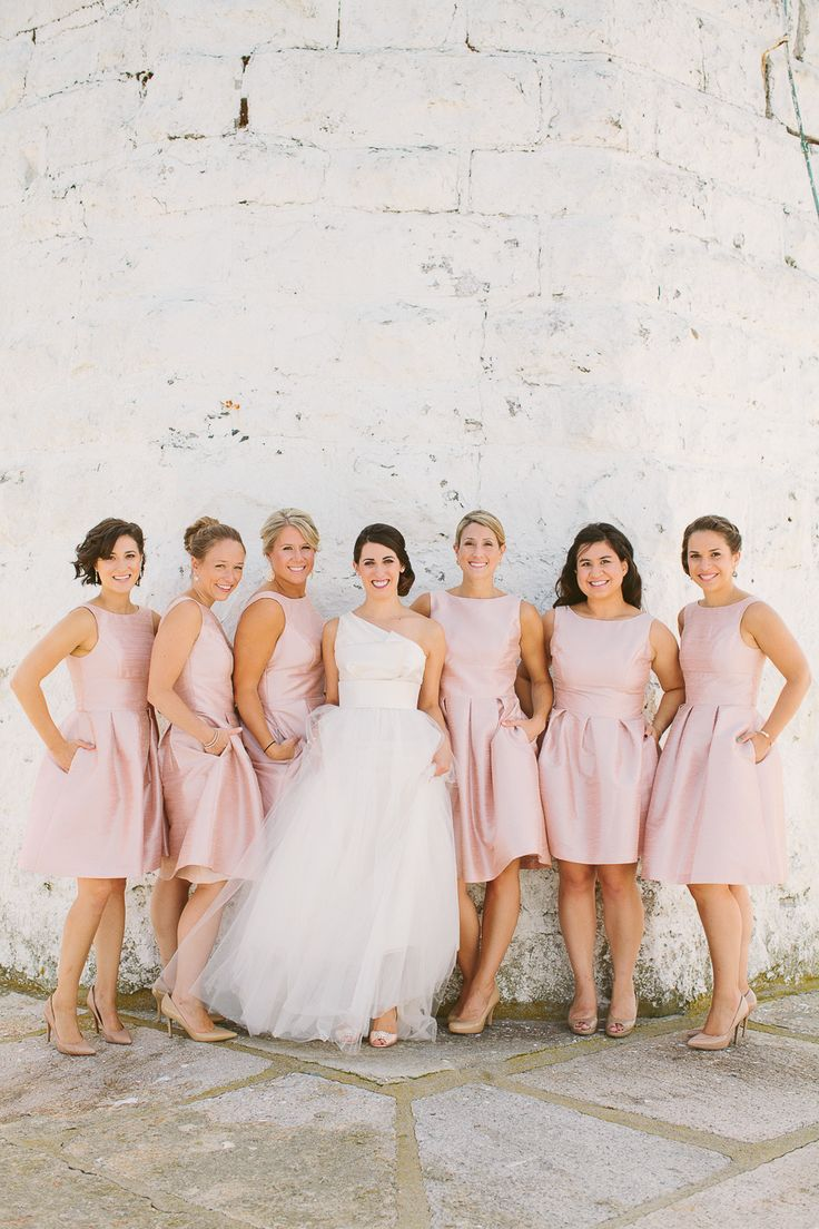 5ad510bbd344 Photography: rebecca-arthurs.com | Best Bridesmaids Dresses - twist wrap  dresses