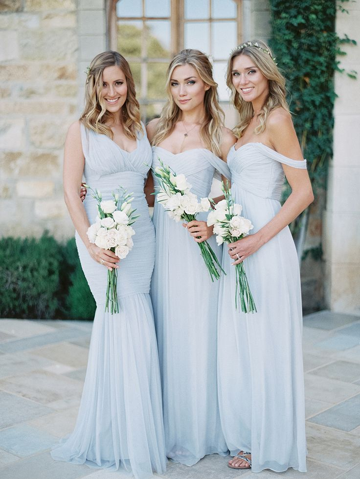 To help you and your girls find bridesmaids dresses that fit, flatter, and make them feel like a million bucks, we've rounded up the best places to buy bridesmaids dresses online. These 16 retailers have the latest in bridesmaids fashion with styles to fit any wedding vibe as well as handy features like online showrooms, at-home try-ons, and even custom dresses made to your bridesmaids' exact measurements.