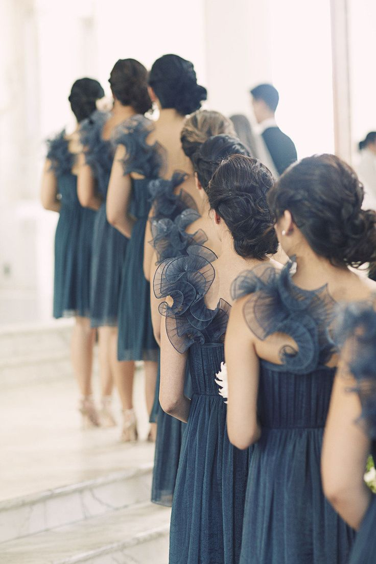 Best Bridesmaids Dresses - twist wrap dresses | fabmood.com #bridesmaiddress #bridesmaid