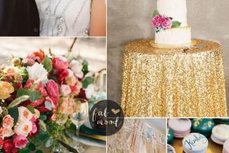 Luxurious Jewel Toned Wedding For Fall and Winter Wedding fabmood.com #jeweltonedwedding