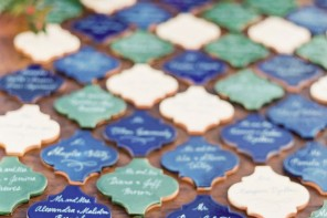 Mexican tiles - Best Escort Card Ideas for Weddings | fabmood.com