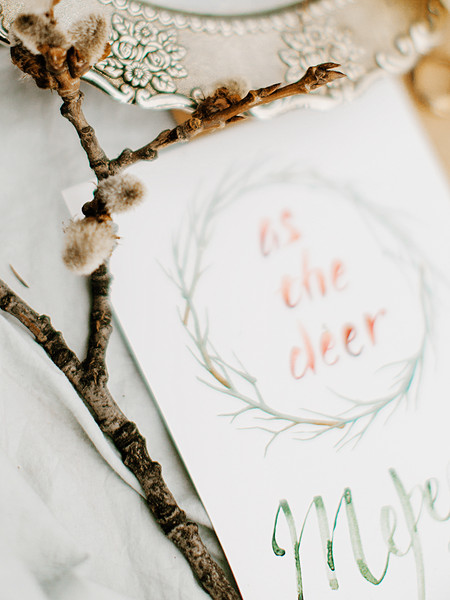 Romantic And Feminine Bridal Inspiration { bluish grey wedding dress } fabmood.com #weddingdress