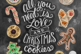 Christmas Dessert Buffet Ideas for Christmas and Winter Wedding | fabmood.com