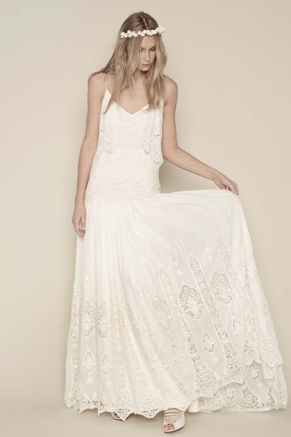 Look for something ethereal, romantic, and unstructured, Rue de Seine | fabmood.com