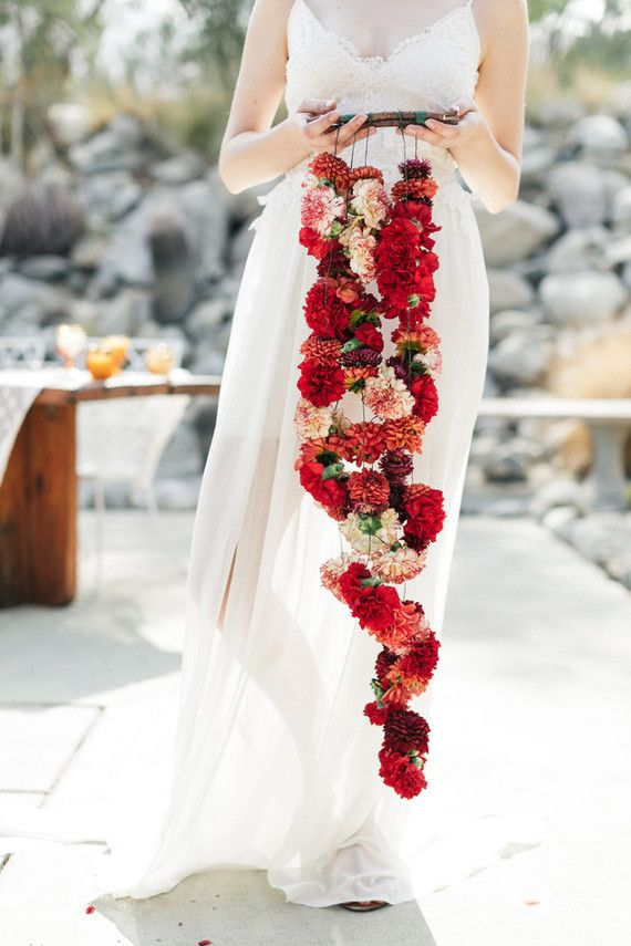 Bohemian wedding bouquet | fabmood.com