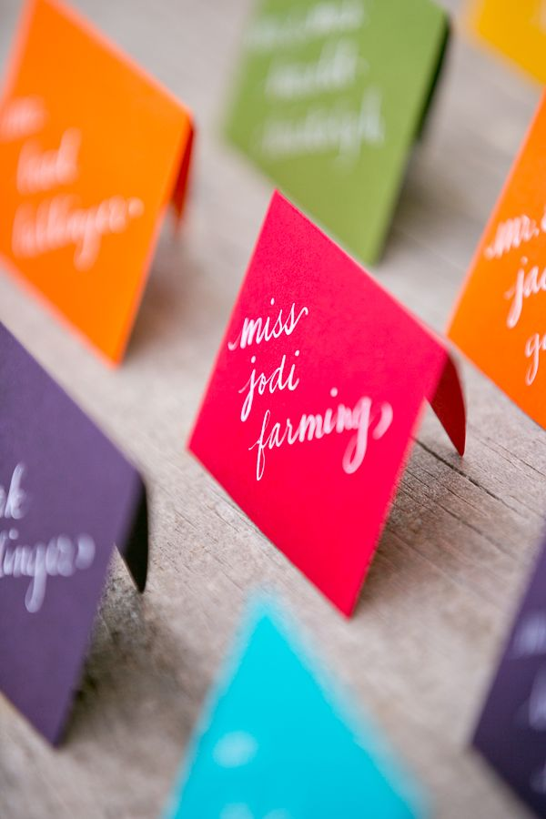 Best Escort Card Ideas for Weddings | fabmood.com