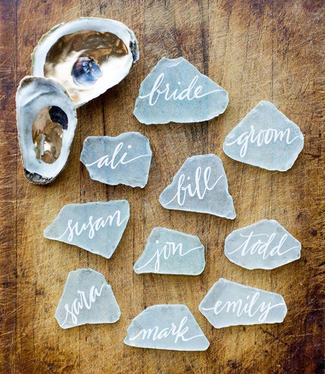 Beach wedding ideas - Best Escort Card Ideas for Weddings | fabmood.com