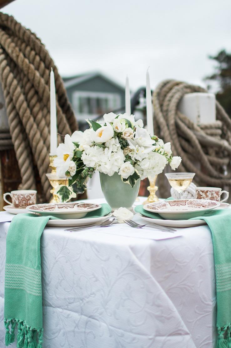 Wedding Tablescape - Nautical Wedding Inspiration shoot | justinabilodeauphotography.com ,nautical wedding inspiration, #weddinginspiration on fabmood.com