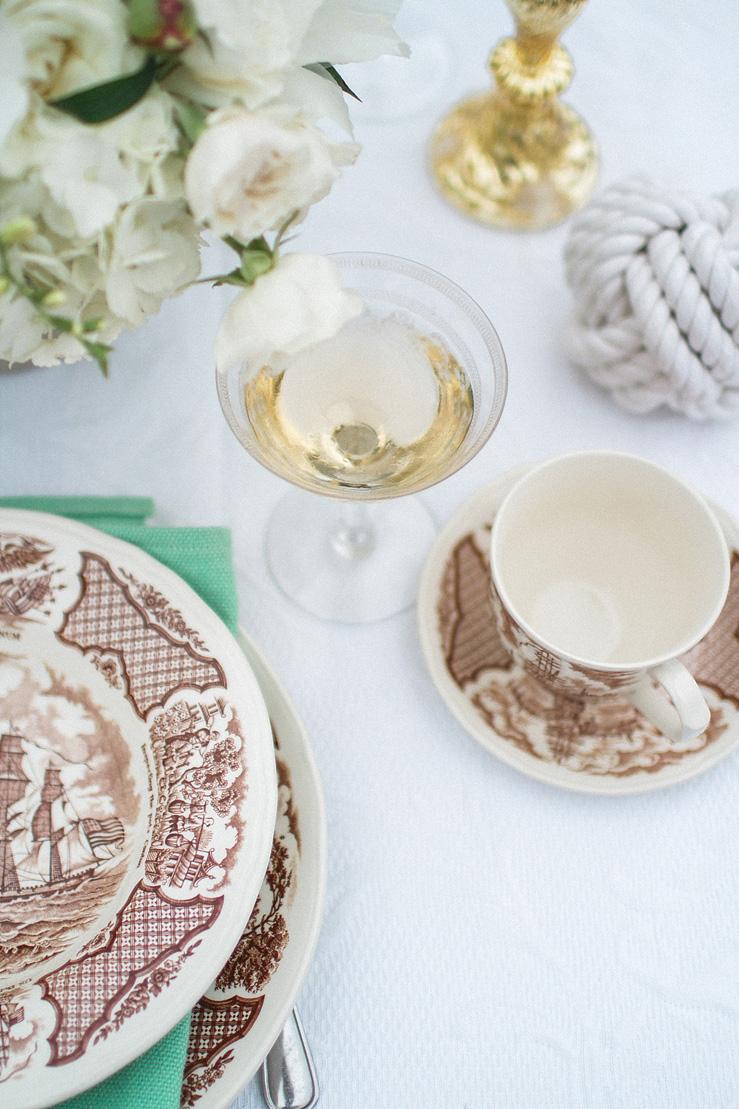 Wedding Table decor - Nautical Wedding theme | justinabilodeauphotography.com ,Nautical Wedding Inspiration , #weddinginspiration on fabmood.com