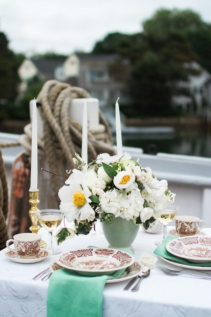 Wedding Tablescape - Nautical Wedding theme | justinabilodeauphotography.com ,Nautical Wedding Inspiration , #weddinginspiration on fabmood.com