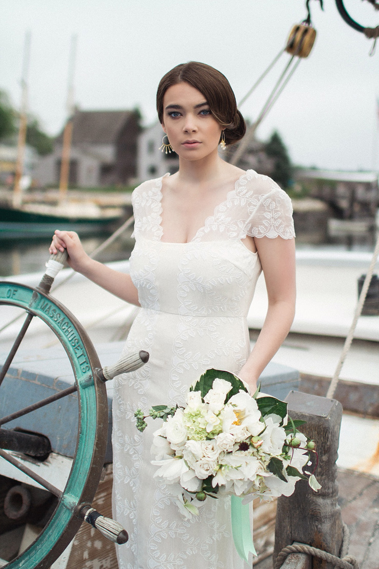 Nautical Wedding Inspiration shoot | justinabilodeauphotography.com ,nautical wedding inspiration, #weddinginspiration on fabmood.com