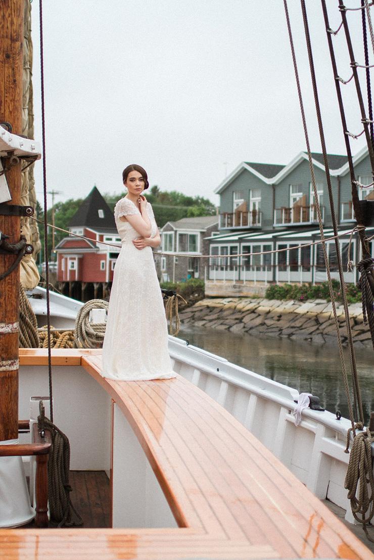 Nautical Wedding Inspiration shoot | justinabilodeauphotography.com | #weddinginspiration on fabmood.com