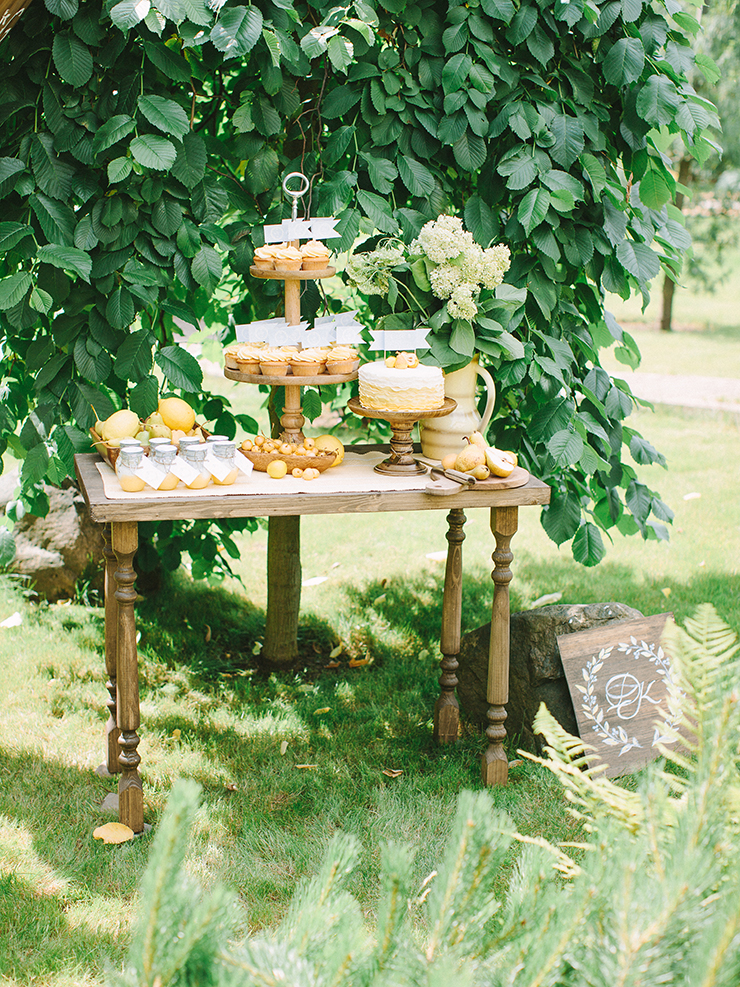Pear inspired wedding theme with blue and yellow colour scheme | Photography : anastasiyabelik.com | Full #wedding inspiration on fabmood.com