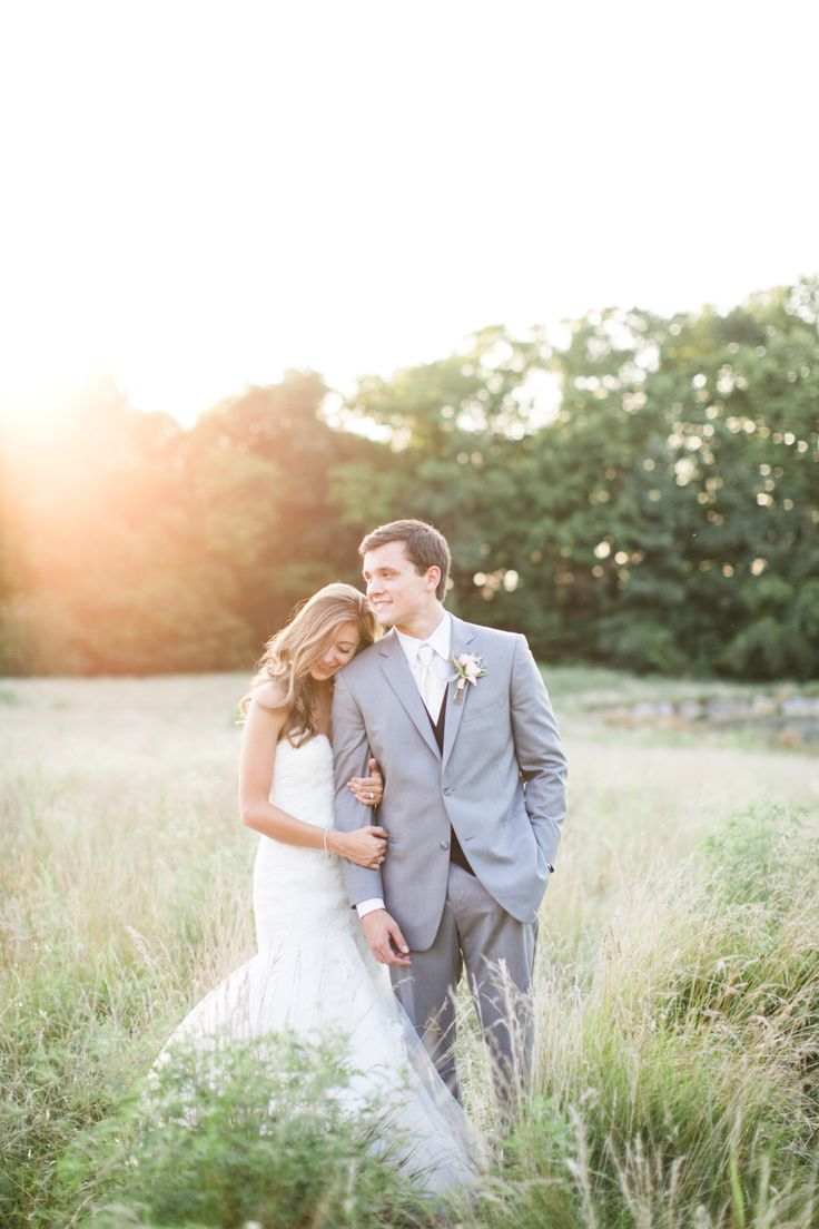 A Romantic and Rustic Farm Wedding in Pennsylvania | #weddingphotography : briannawilbur.com | #Timeless #wedding on fabmod.com