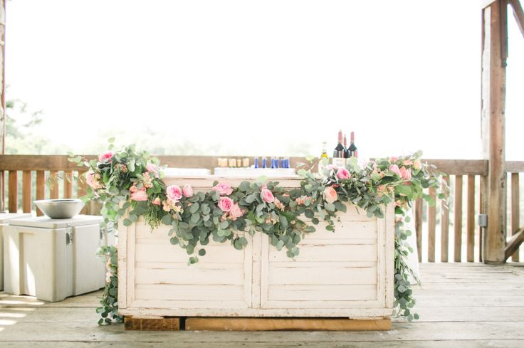 floral decor - A Rustic and Romantic Farm Wedding in Pennsylvania | #weddingphotography : briannawilbur.com | #Timeless #wedding on fabmod.com