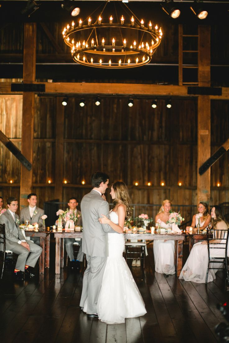 A Rustic and Romantic Farm Wedding in Pennsylvania | #weddingphotography : briannawilbur.com | #Timeless #wedding on fabmod.com #firstdance