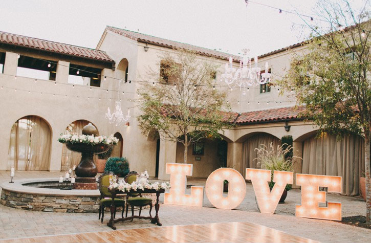Giant love wedding sign   Casablanca Wedding Dress for a Shabby chic wedding with blush and champagne colours