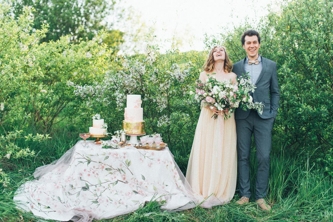 Romantic Ethereal wedding inspiration { Fresh and Subtle Shades } Photography : pshefter.com | read more on fabmood.com #weddinginspiration :