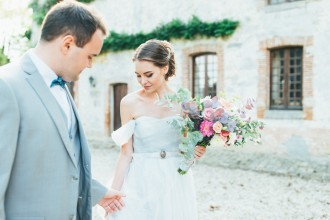 A Fairly Tale Princess And Prince Wedding In Paris   Photography : pshefter.com   #weddinginspiration on fabmood.com