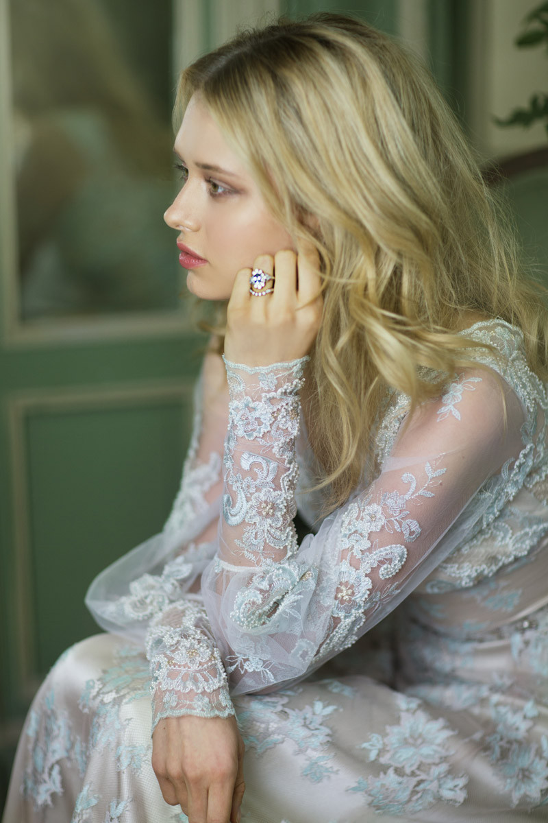 eliza wedding dress by claire pettibone from gilded age fall 2016 collection fabmoodcom