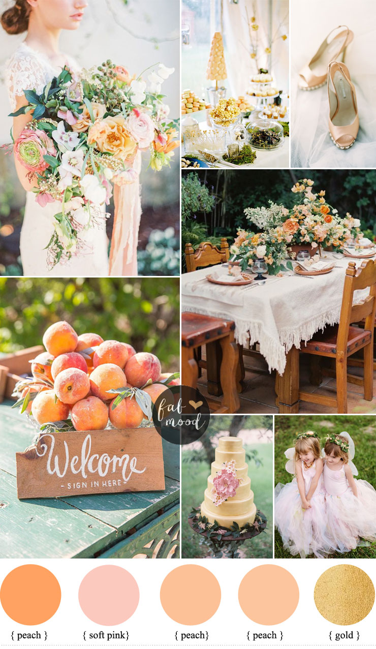 Whimsical garden wedding theme peach tulle whimsical garden wedding theme peach tulle fabmood junglespirit Choice Image