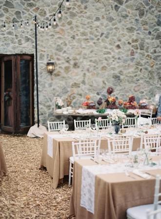 Rustic and Romantic Alfresco Wedding in Malibu
