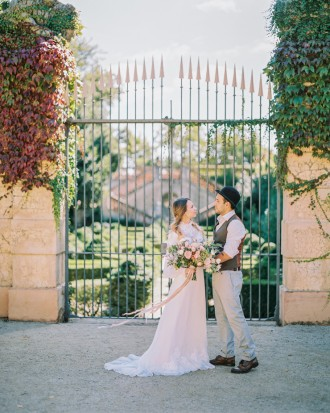 Barcelona Destination Wedding Inspiration at Autumn Park from kseniyabunets.com | Read #weddinginspiration full post on fabmood.com