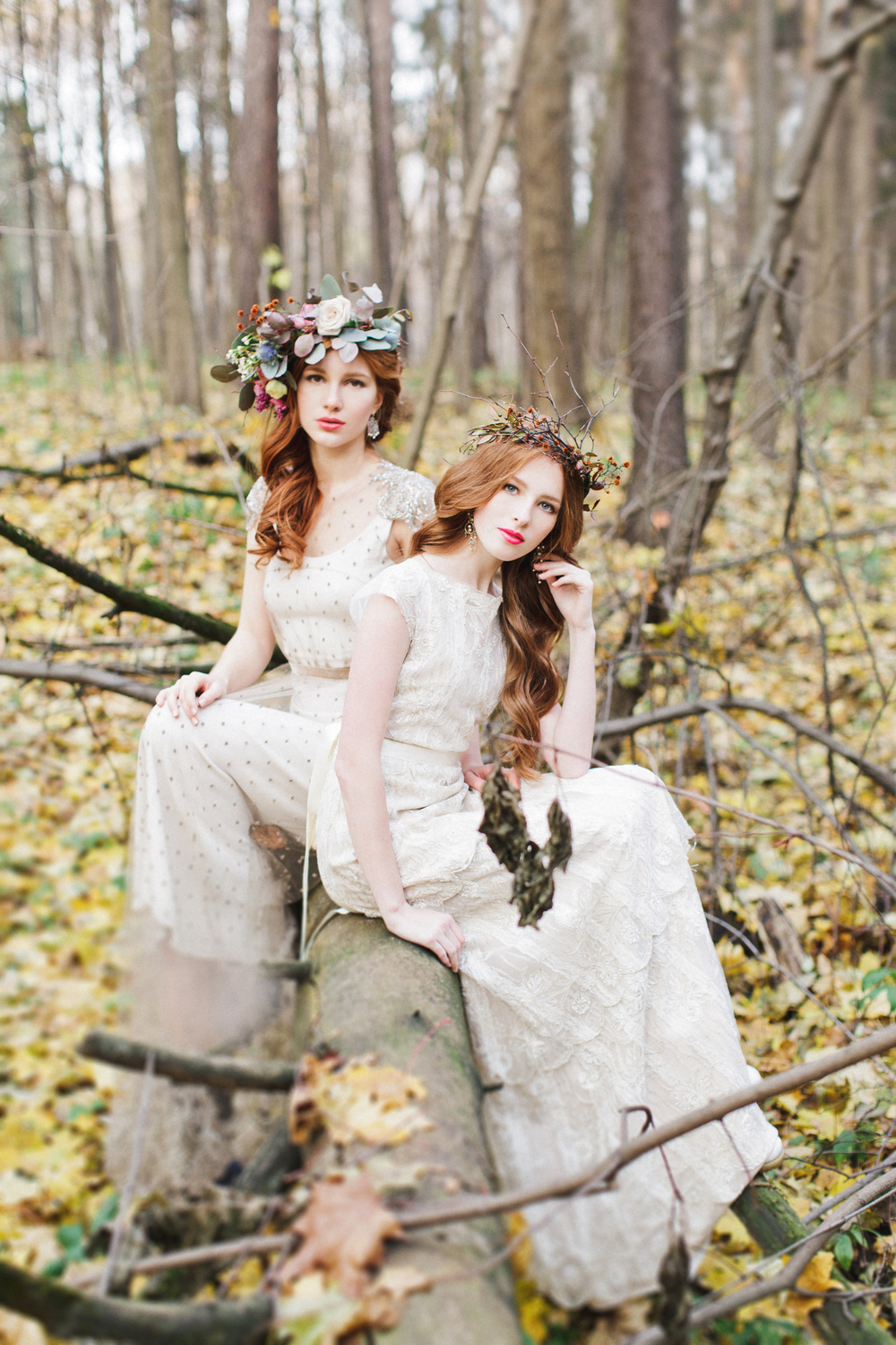 Wedding in autumn - a fairy tale in yellow-purple tones 74