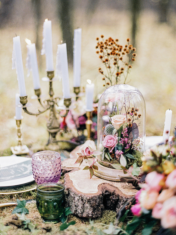 Enchanted Forest Fairytale Wedding In Shades Of Autumn