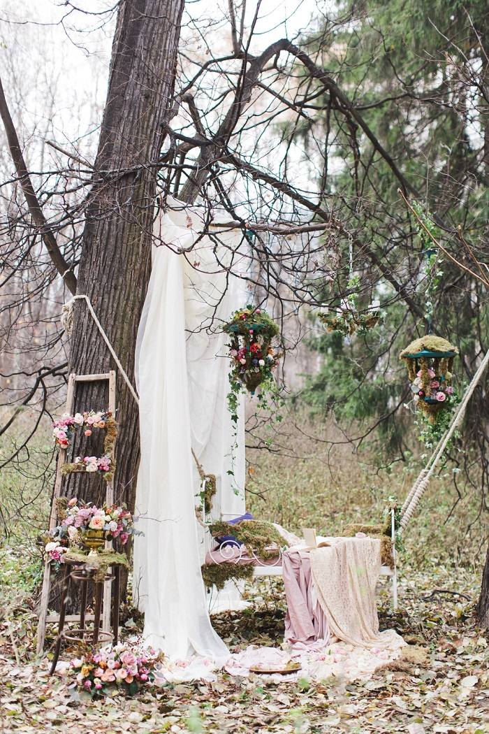 Enchanted-forest-fairytale-wedding-in-shades-of-autumn 1 ...