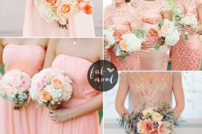 bridesmaids dresses by colour : peach bridesmaids dresses | fabmood.com