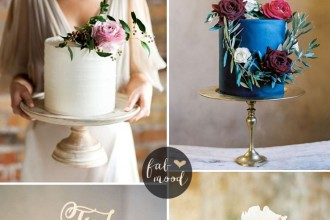 37 One Tier Wedding Cakes will have your guests' mouths watering | fabmood.com