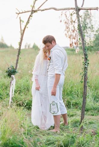Bohemian wedding inspiration shoot | photo by Igor Kovchegin | Fab Mood - UK Wedding Blog