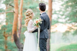 Romantic Woodland Wedding Inspiration | Fab Mood