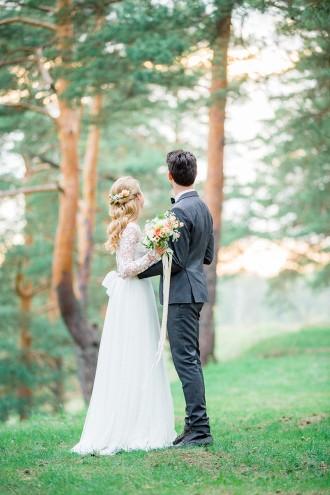 Romantic Woodland Wedding Inspiration | Fab Mood