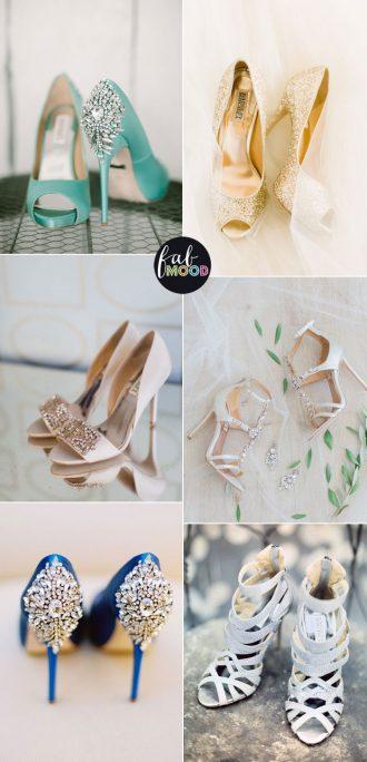 Badgley Mischka Wedding Shoes | fabmood.com