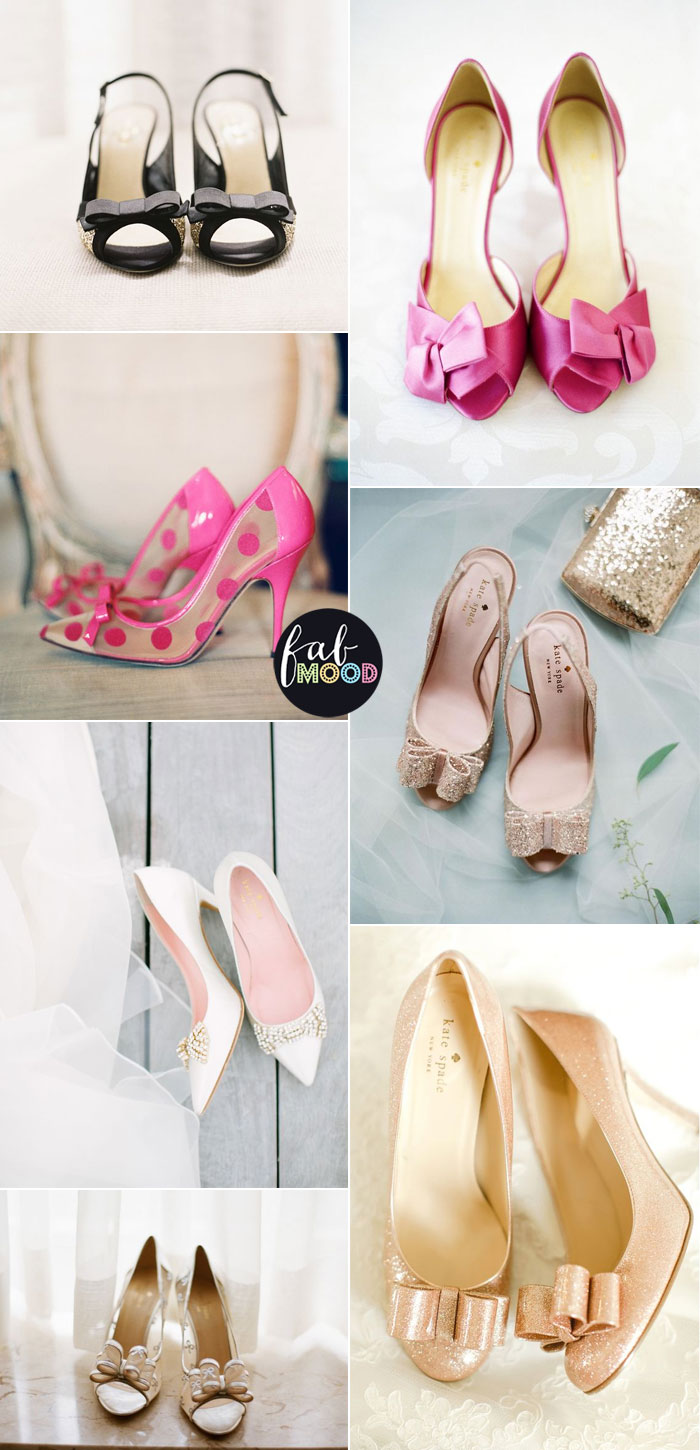 Kate Spade Designer Bridal Shoes | fabmood.com