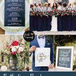 Reflecting Pond Dark blue wedding theme { 1 in Top 10 Pantone Fall 2015 }