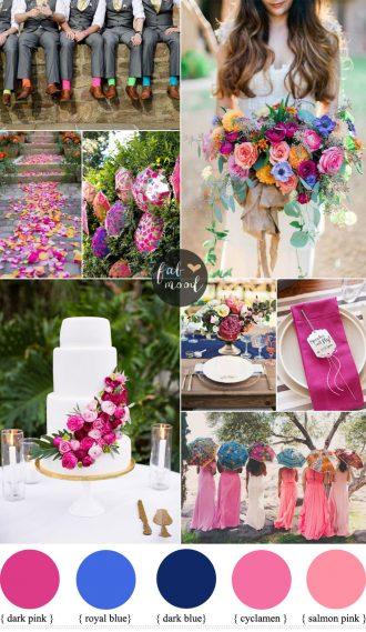 Colourful wedding ideas | fabmood.com